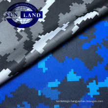 sportswear clothing 100% polyester sublimation camouflage printed mesh fabric