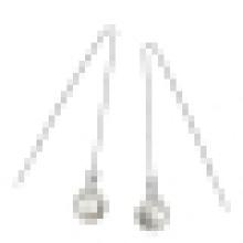 Women′s Fashion 925 Sterling Silver High-Grade Shell Pearl Earrings