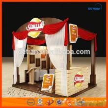Projeto modular e fabricação simples da tenda da exposição feitos em Shanghai