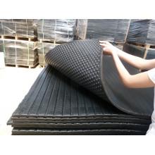 Tapis en caoutchouc stable, tapis en caoutchouc pour animaux, tapis en caoutchouc stable