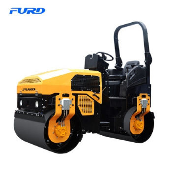 Full Hydraulic 3 Ton Double Steel Drums Vibration Road Roller