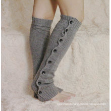 Women′s Classic Leg Warmers with Bottons (TA306)
