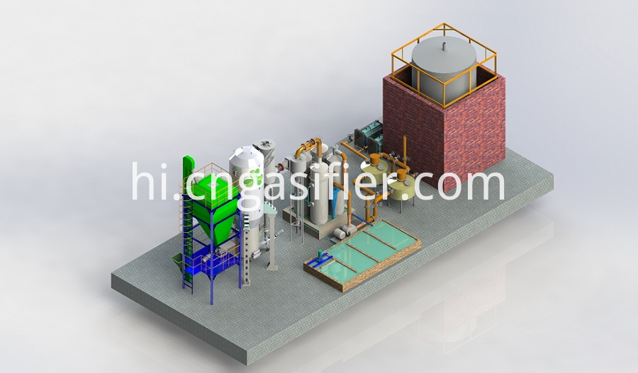 biomass gasifier power plant