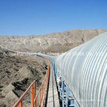 ASTM/DIN/Cema/Sha Standard EPC Conveyor System/Curved Conveyor for Mining Project