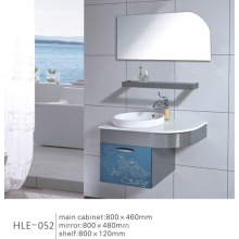 Colorful Modern Style Wall Mounted with Shelf Stainless Steel Cabinet