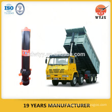 telescopic tipping cylinder for dump truck