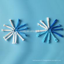 Pince à cordon ombilical en plastique ABS ABS à usage médical