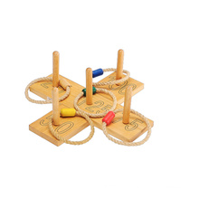 Wooden Throw and Loop Game Chess Game (CB2280)