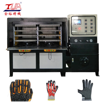 KPU Climbing Glove Heating Press Making Machine