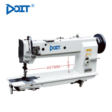 DT4420HL-18 DOIT Precio de la máquina de coser de puntada de cerradura plana de doble aguja de brazo largo