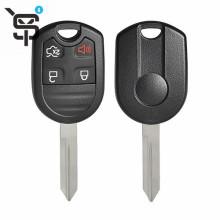 Best price  car key case for Ford  transponder  car key cover 4 button black