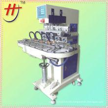 High quality HP-160DZ pneumatic 4 color card tampon print