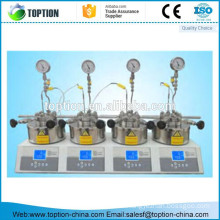 High Quality magnetic stirred parallel micro high-pressure reactor 50ml