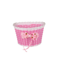 PVC Colorful Bicycle Front Basket for Kids Bike (HBK-176)