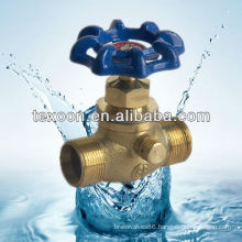 Copper Drain Stop Valves with Male and GHT Connections 222-TM Lead free