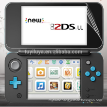 Hote New LCD Screen Protector Anti Film + Full cover skin For Nintendo NEW 2DS XL LL NEW 2DSLL