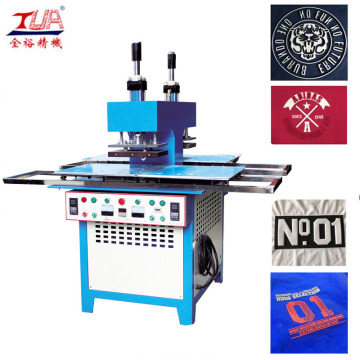 heat transfer labels embossing machine for clothing