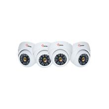Антивандальная купольная камера с фиксированным объективом 3 МП