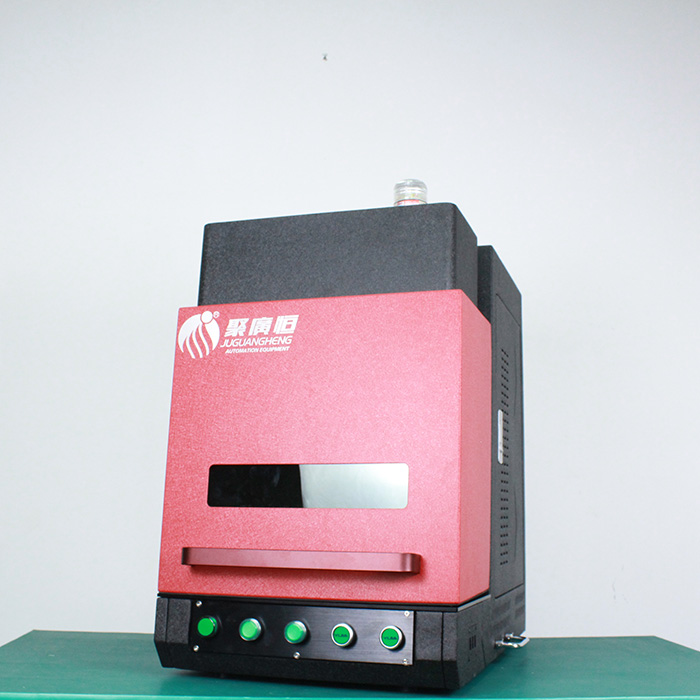 Jgh A 1 Small Sized And Closed Off Fiber Marking Machine