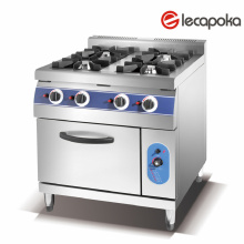 Gas Cooking Range with High Quality Gas Valve