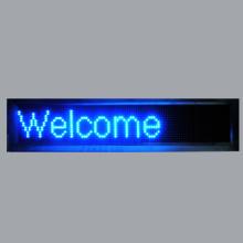 LED Moving Letters willkommen Board Zeichen