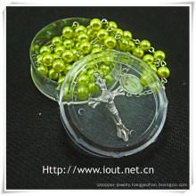 Religious Plastic Packing Box, Rosary Box (IO-p024)
