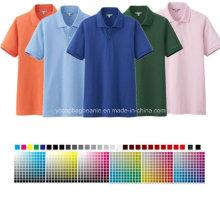 Verschiedenes Farbwahl-T-Shirt Polo