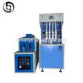 Preço da máquina de moldagem por sopro manual de 4 cavidades para garrafa de PET