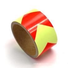 Señal de tráfico de seguridad de cinta reflectante para el cono de tráfico