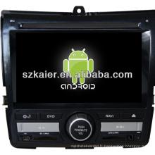 Multimédia de voiture Android pour Honda City avec GPS / Bluetooth / TV / 3G / WIFI