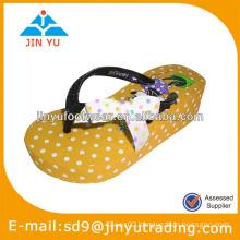 2014 girls platform high heel slipper