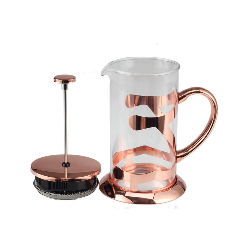Classic Copper Glass French Press