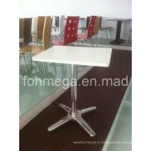Mobilier de restaurant Table carrée blanche (FOH-RT69)
