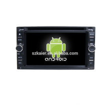 Quad core! Voiture dvd avec lien miroir / DVR / TPMS / OBD2 pour 6,2 pouces écran tactile quad core 4.4 Android système universel