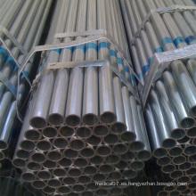 Tubería de acero galvanizada del tubo de invernadero del acero