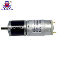 12 v 1 rpm elektrische dc getriebemotoren planetary 200 rpm medizinische ausrüstung getriebemotor
