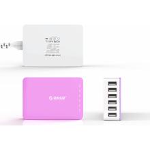2015 New CSA-6U 6-Port Colorful Desktop USB Charger