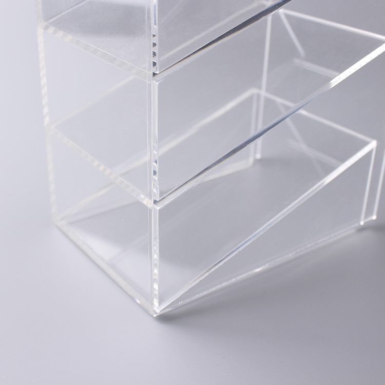 3 Compartment Acrylic Organizer