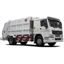 Carro de basura trasero de Sinotruk HOWO 22cbm