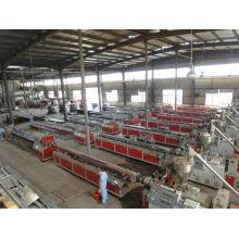 2014 máquina de madeira nova da composição da linha de WPC que faz a máquina da extrusão da LINHA / PVC WPC
