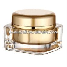 15g 20g 30g 50g 75g 125g square acrylic cream jar cosmetic packaging jars