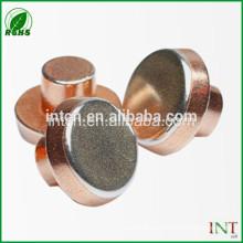 remaches de cobre T2