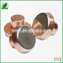 rivets de cuivre T2