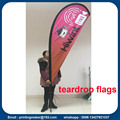 Percetakan Bendera Bendera Custom Teardrop