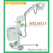 MSLMX13-M 50mA Unité de rayons X de chevet Technologie de rayons X avancée Unité de radiographie portable portable dentaire