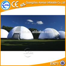 Tienda de campaña inflable grande al aire libre de la burbuja, tienda inflable usada, tienda del partido para la venta