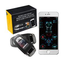 Dropshipping 4g  APP Smart Phone unlocking Car System Remote KPush Start Stop Smart Vehicle APP Keyless Entry System Car+Alarms