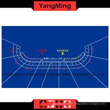 Baccarat Table Layout Blue 10 P (YMBL01B)