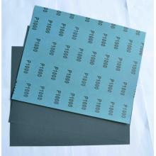 Blue Latex Paper Silicon Carbide Waterproof Sandpaper