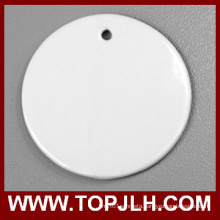 2016 Hot Selling 3 Inch Ceramic Christmas Ornament Sublimation